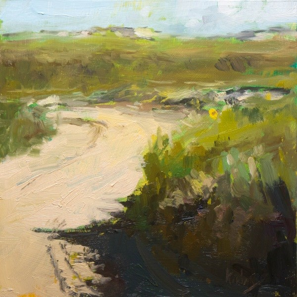 """Behind the Dunes"" original fine art by Randall Cogburn"
