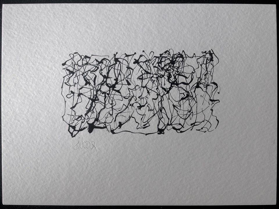 """RUN RUN RUN RUN prologue"" original fine art by Craig Svare"