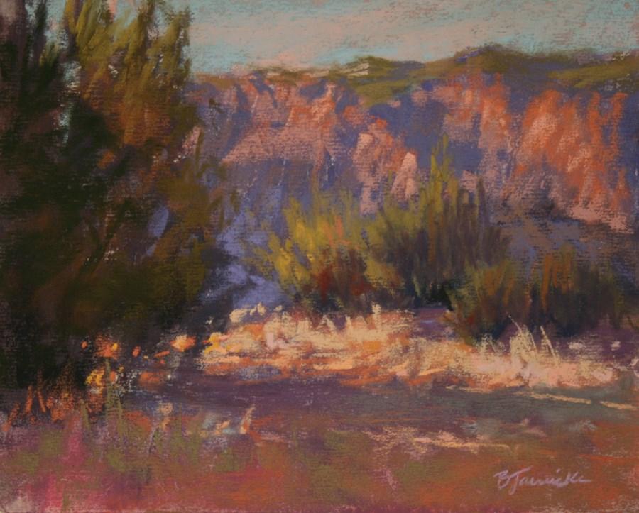 """In the Moment"" original fine art by Barbara Jaenicke"