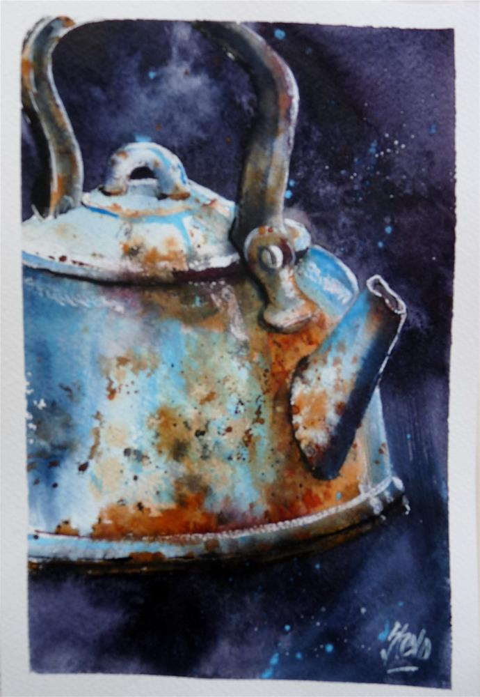 """Ishmael's Kettle"" original fine art by Martin Stephenson"
