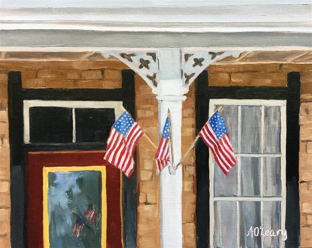 """American Trio"" original fine art by Alice O'Leary"