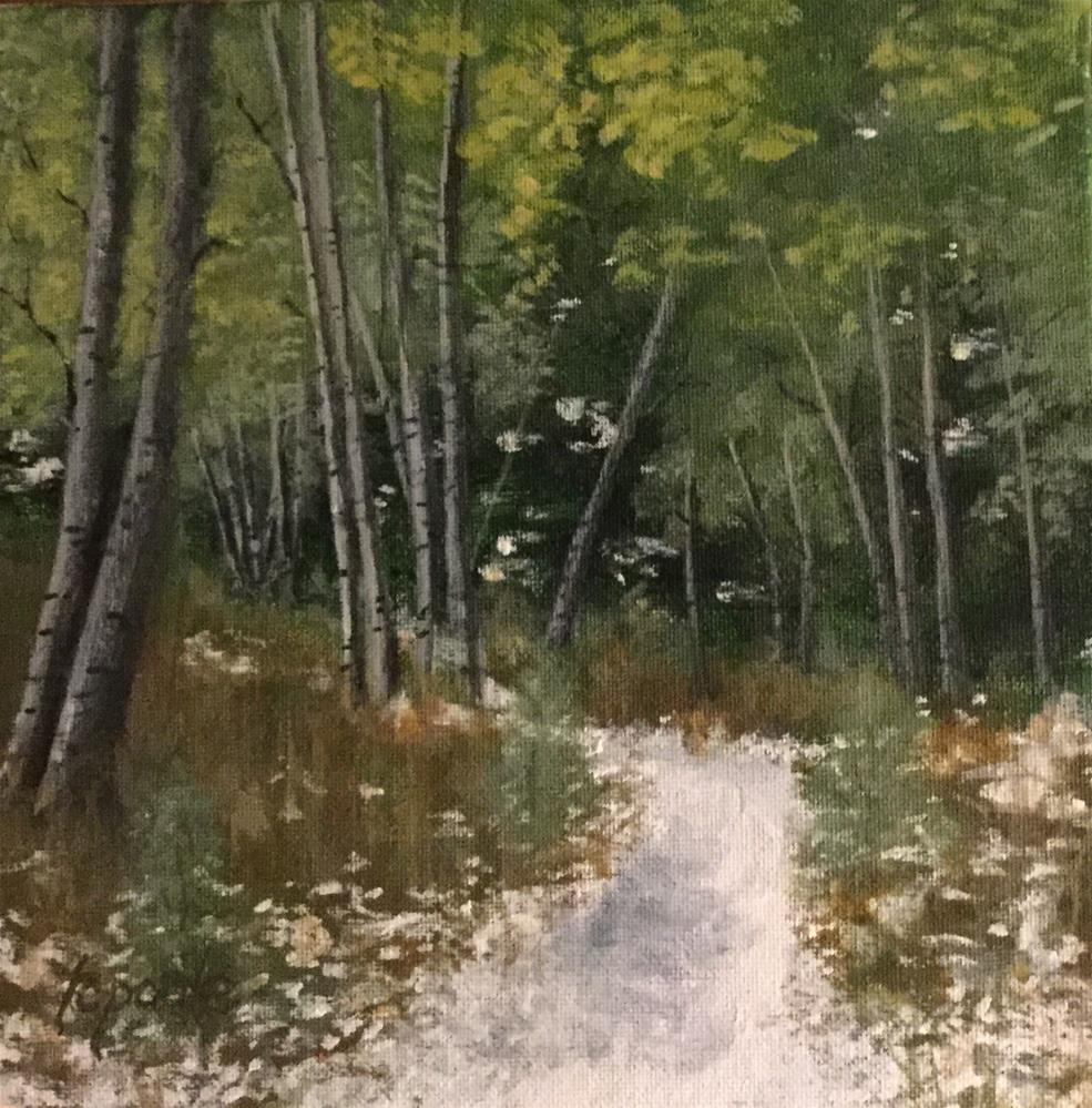 """Early Snow"" original fine art by T.C. Poole"