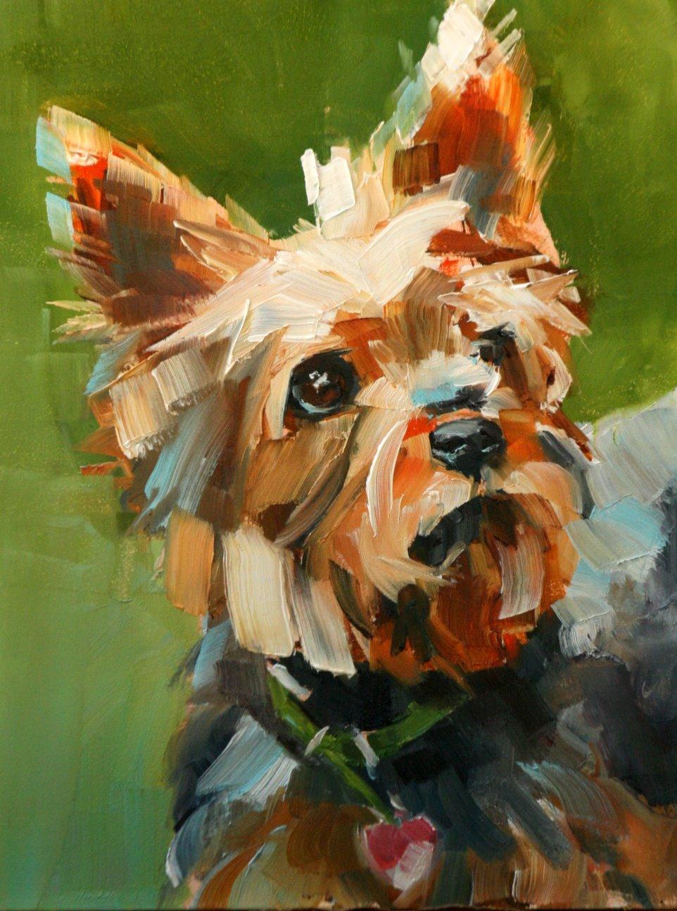 """Maggie"" original fine art by Carol Carmichael"