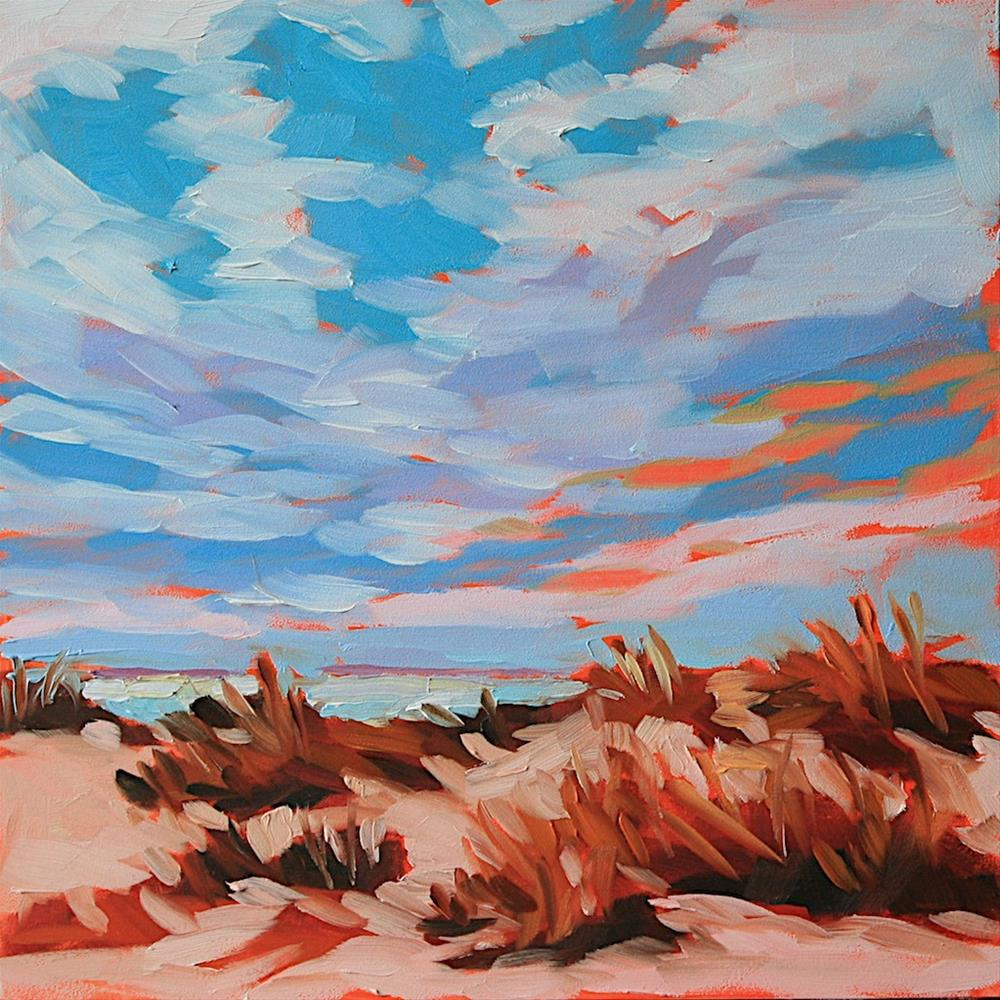 """Dunes"" original fine art by Mary Anne Cary"