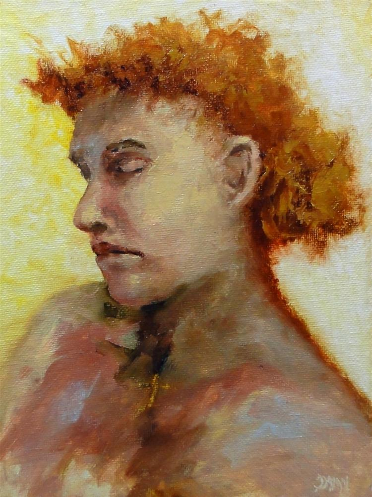 """Persephone"" original fine art by Dalan Wells"