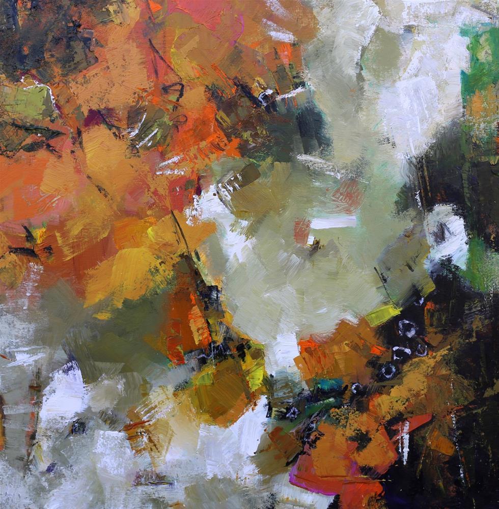 """""""Delica"""" original fine art by Elizabeth Chapman"""