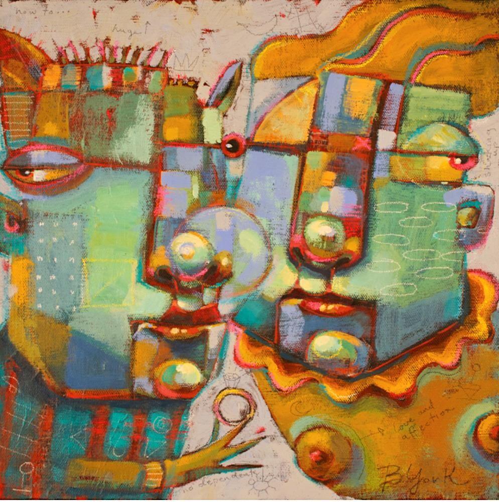 """Au Fait"" original fine art by Brenda York"