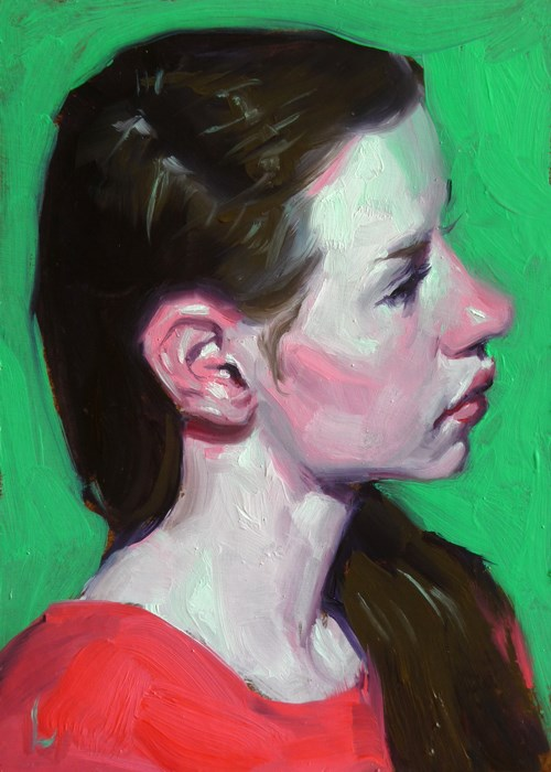 """Melon"" original fine art by John Larriva"