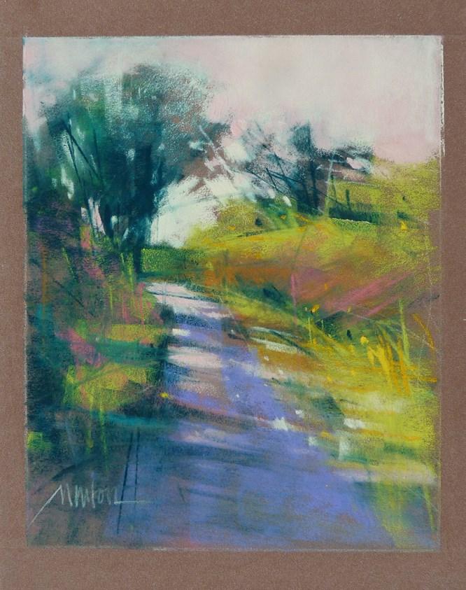 """Study for Leaving Home"" original fine art by Barbara Benedetti Newton"