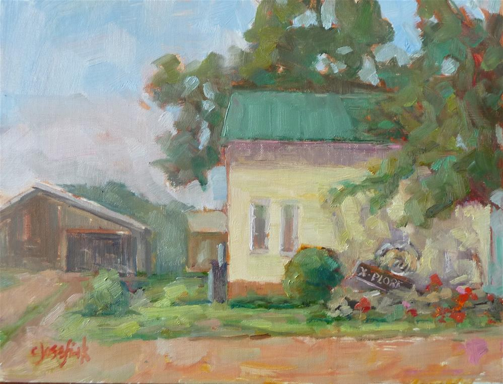 """Snead's Farm"" original fine art by Carol Josefiak"