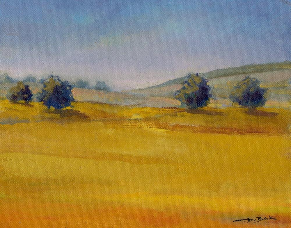 """too dry"" original fine art by V. DeBak"