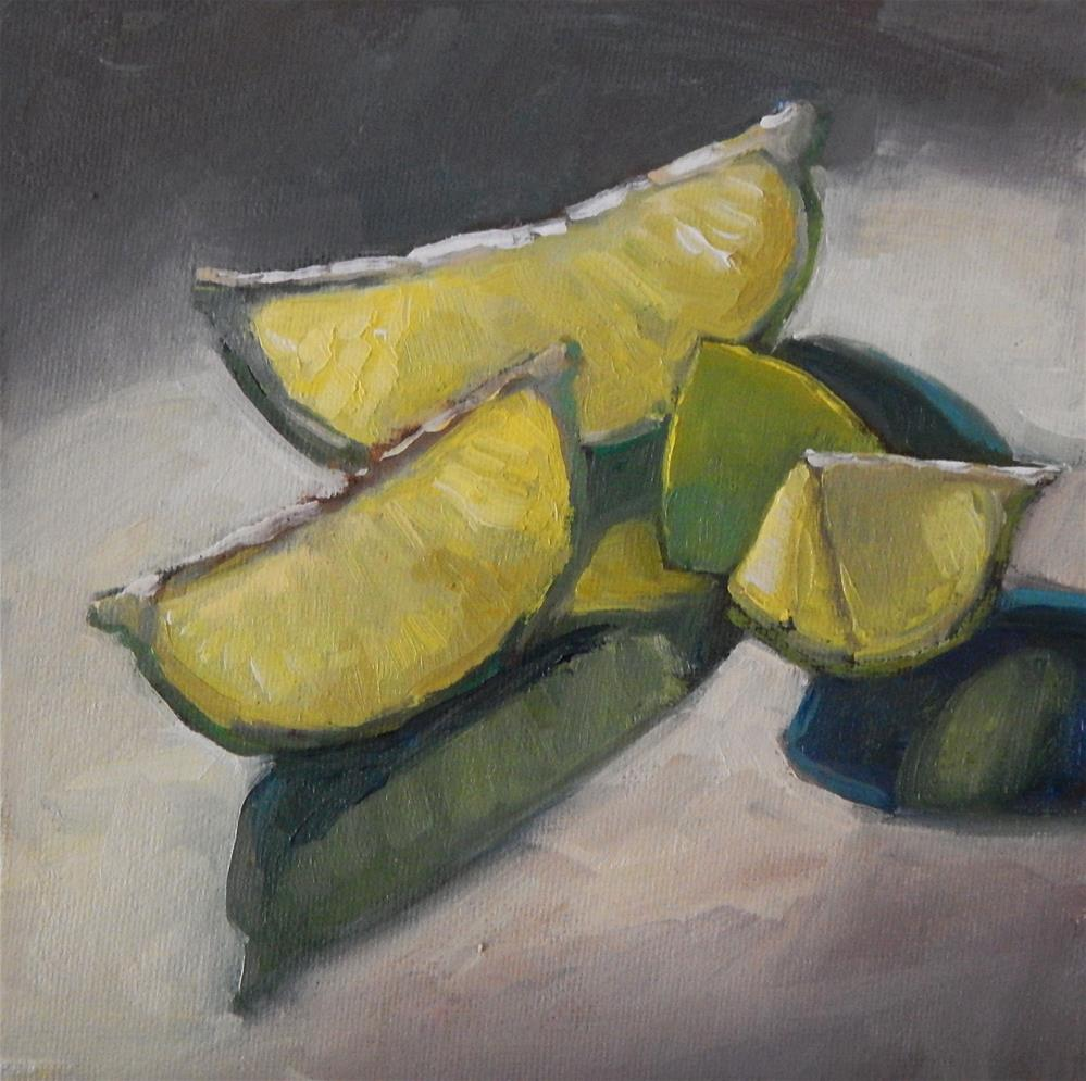 """Lime Light"" original fine art by Lisa Kyle"