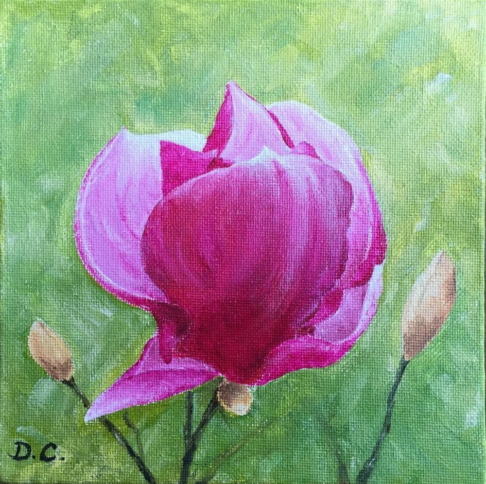 """Blossom"" original fine art by Diana Chang"