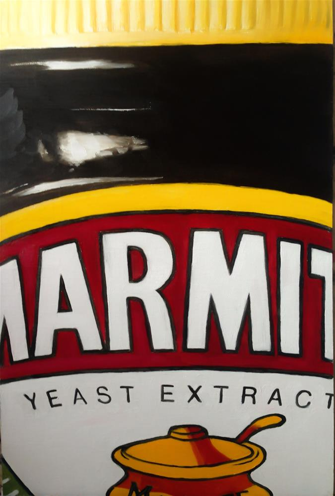 """Marmite"" original fine art by James Coates"