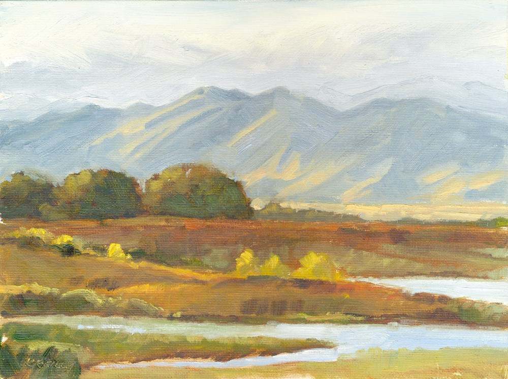 """Autumn Light"" original fine art by Kath Reilly"