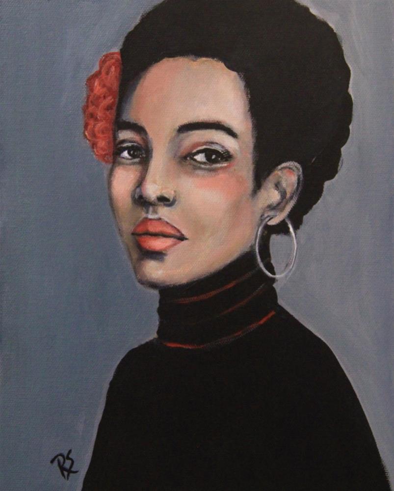 """""""Dorothea"""" original fine art by Roberta Schmidt"""