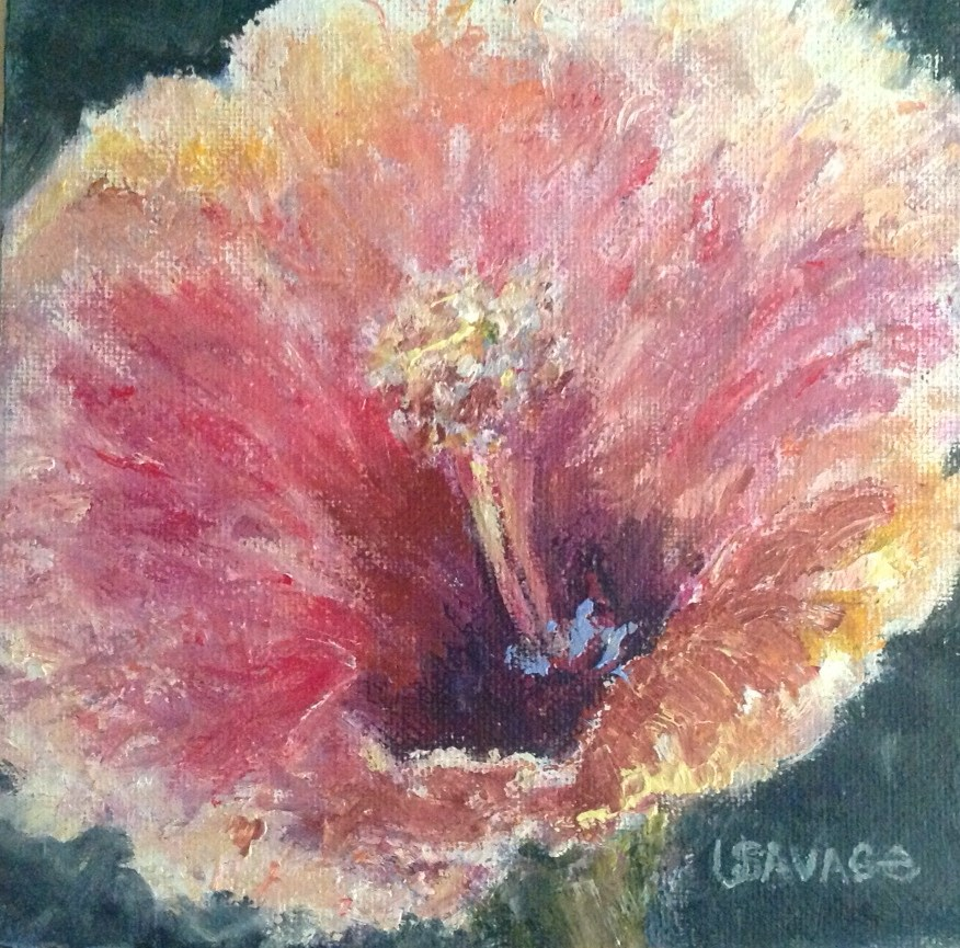"""Open Wide"" original fine art by Judy Usavage"