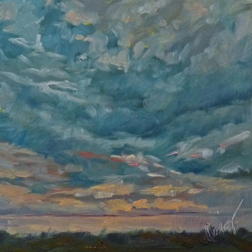 """Sky3"" original fine art by Sharman Owings"