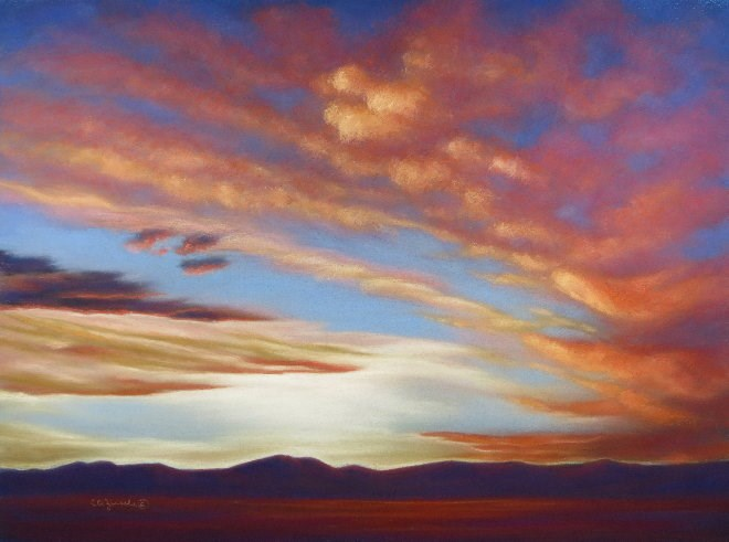 """Final Overture"" original fine art by Carol Zirkle"