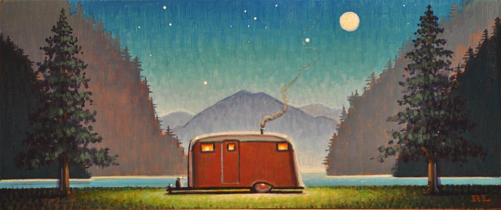 """Under the Stars"" original fine art by Robert LaDuke"