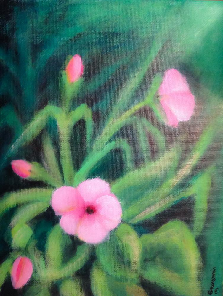 """Other Flowers (Hibiscus)"" original fine art by Giovanni Antunez"