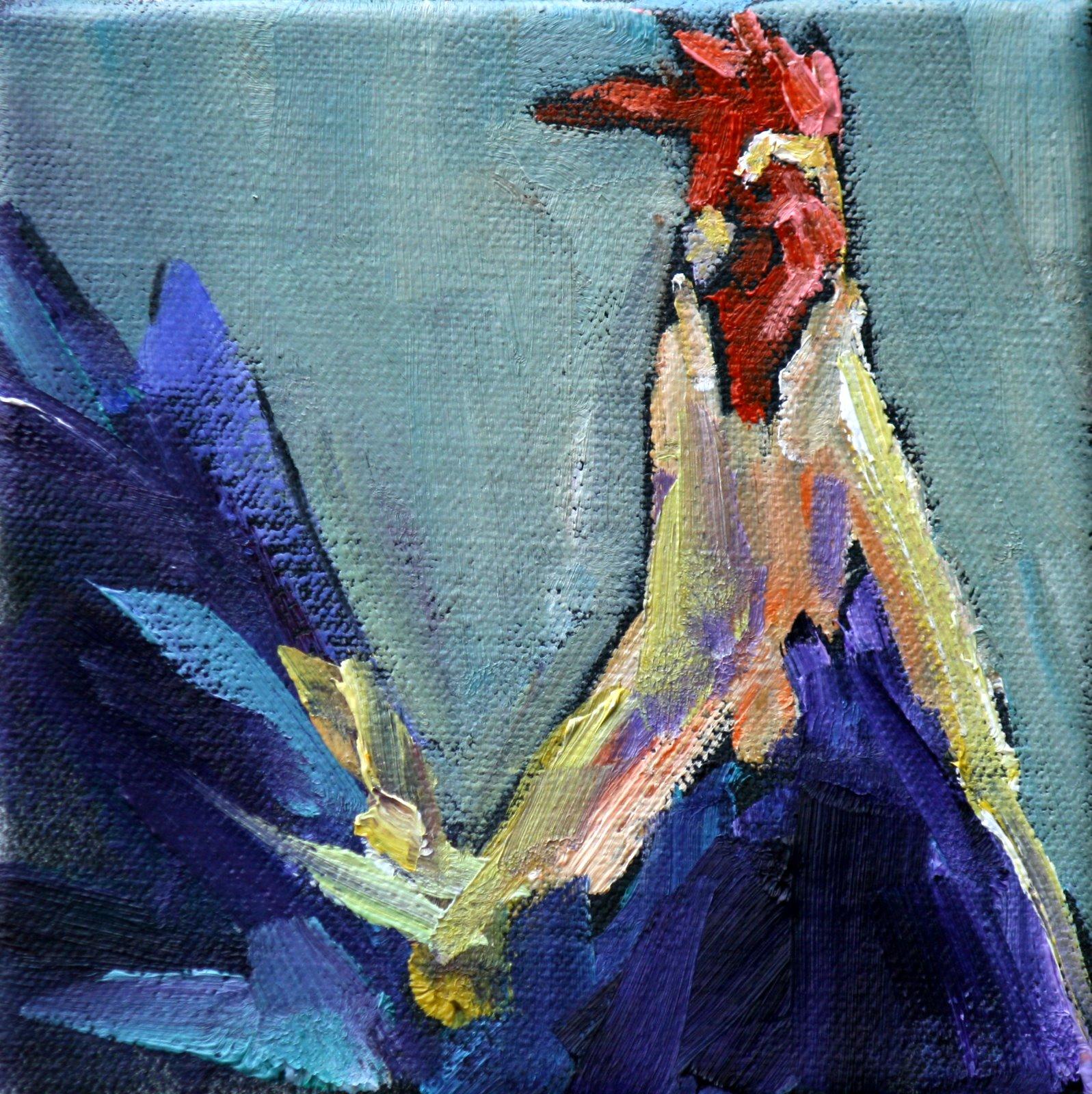 """""""flighty"""" original fine art by Carol Carmichael"""