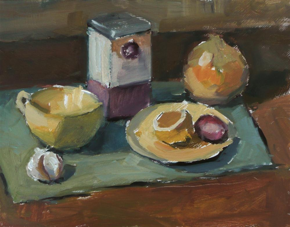 """Yellow Study 1"" original fine art by Dana Cooper"