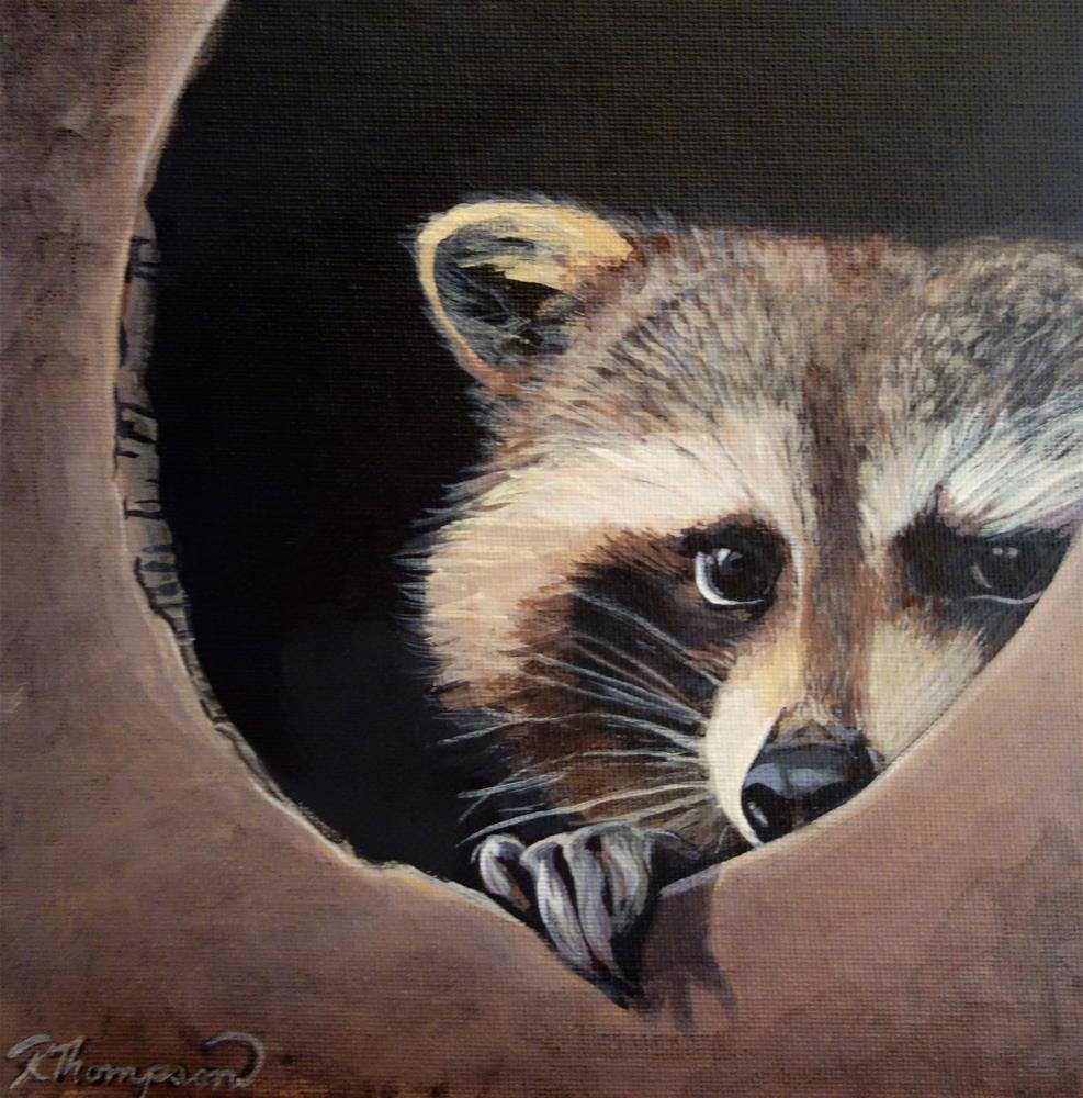 """Hideout"" original fine art by Rachel Thompson"