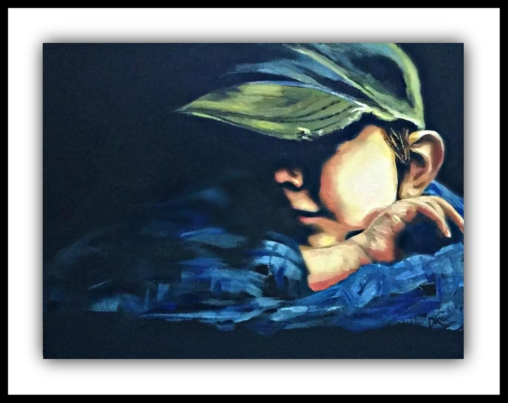 """Little Trooper"" original fine art by Dana C"
