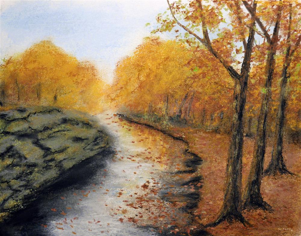 """""""Moss On The Rocks"""" original fine art by Ken Figurski"""