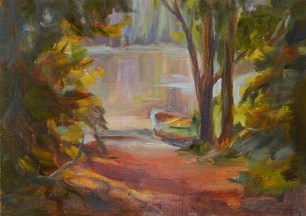"""""""Still Waters, Original oil by Carol DeMumbrum"""" original fine art by Carol DeMumbrum"""