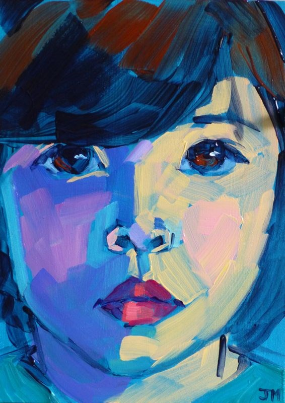 """August is Artist Appreciation Month"" original fine art by Jessica Miller"