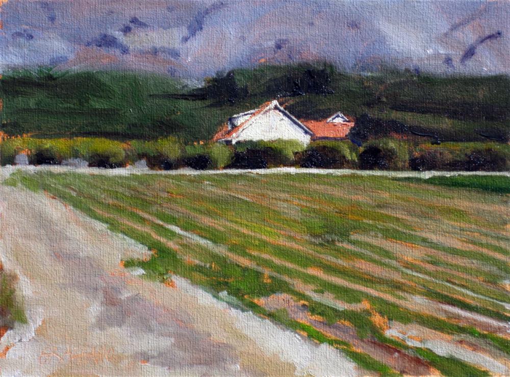 """""""the family farm"""" original fine art by Dan Graziano"""