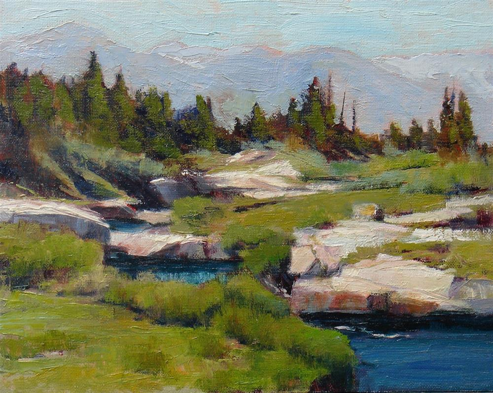 """Bear Creek"" original fine art by Susan Hammer"