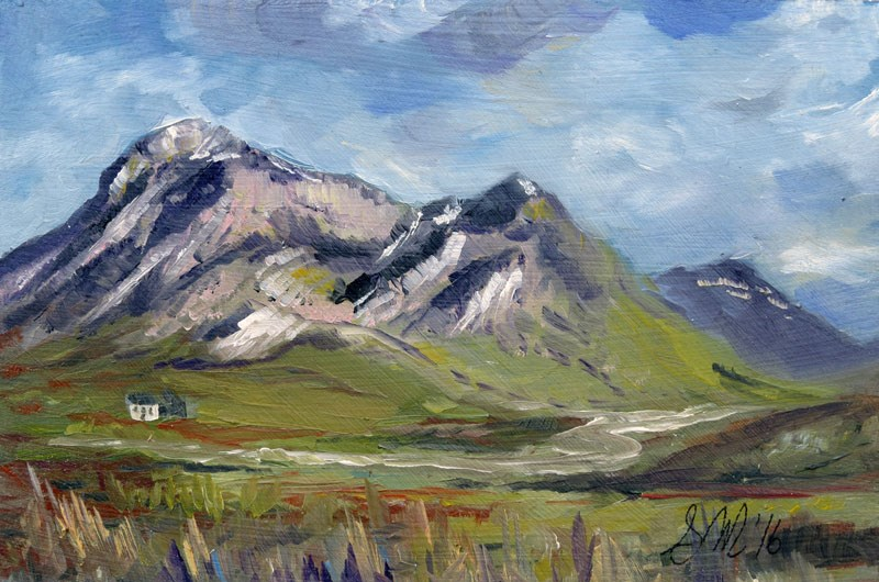 """Glencoe"" original fine art by Susan  Mackenzie"