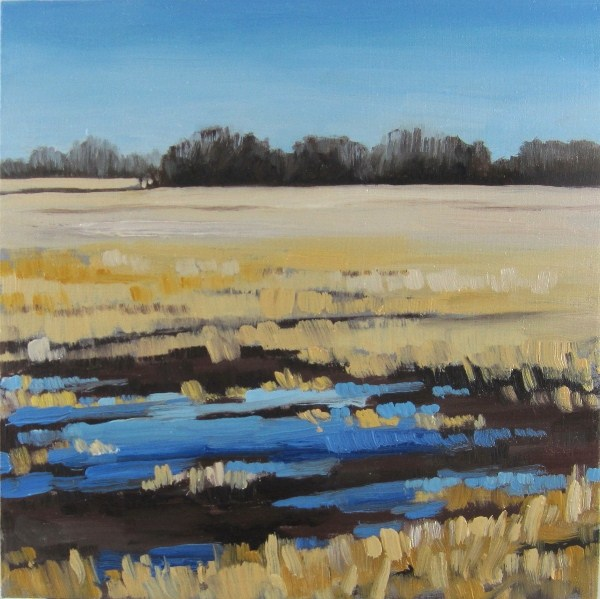"""Prairie Oasis"" original fine art by Nicki Ault"