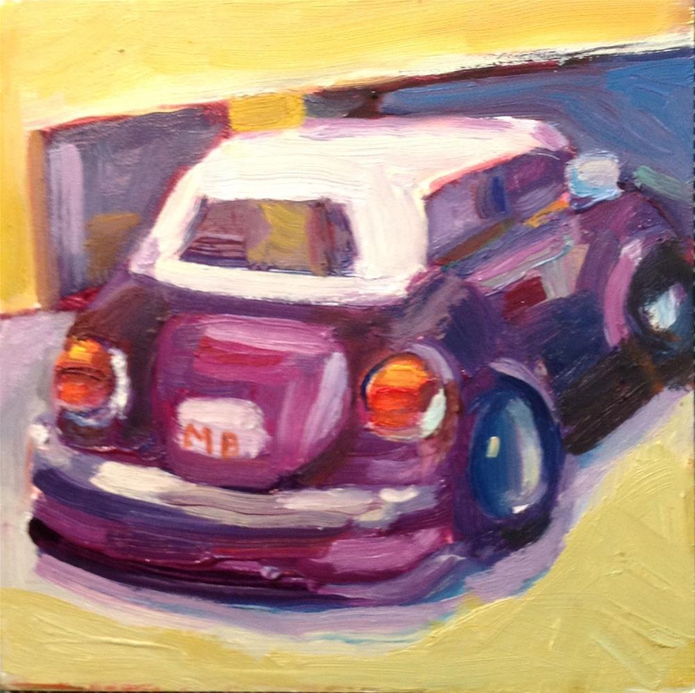 """""""Bug Out"""" original fine art by Marcia Bergtholdt"""