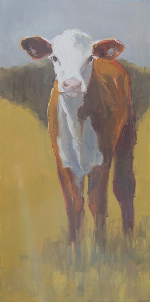 """""""leggy"""" original fine art by Carol Carmichael"""
