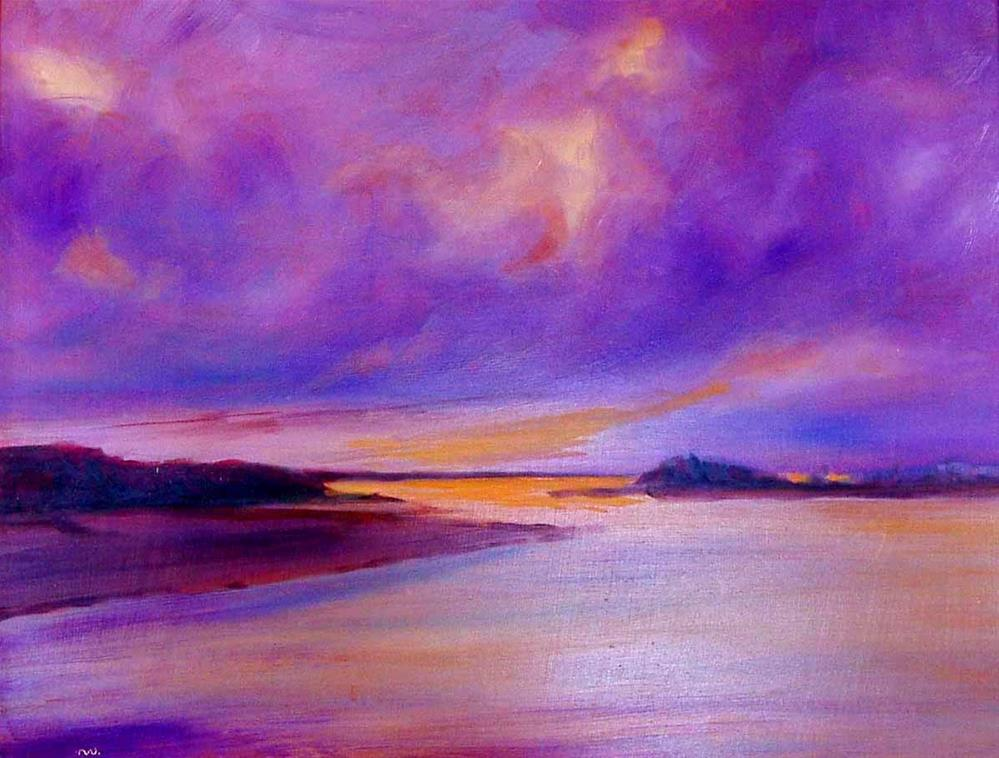 """After The Storm"" original fine art by Cietha Wilson"