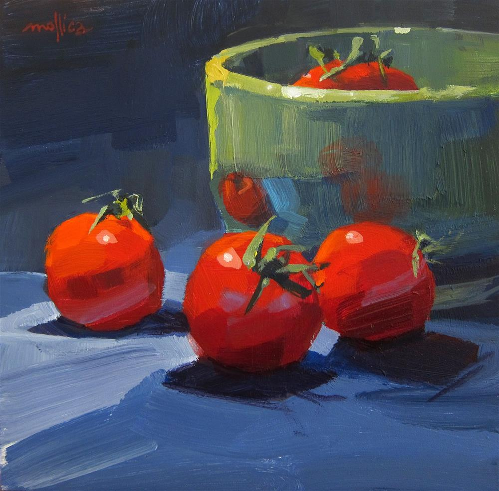 """A few good 'maters"" original fine art by Patti Mollica"