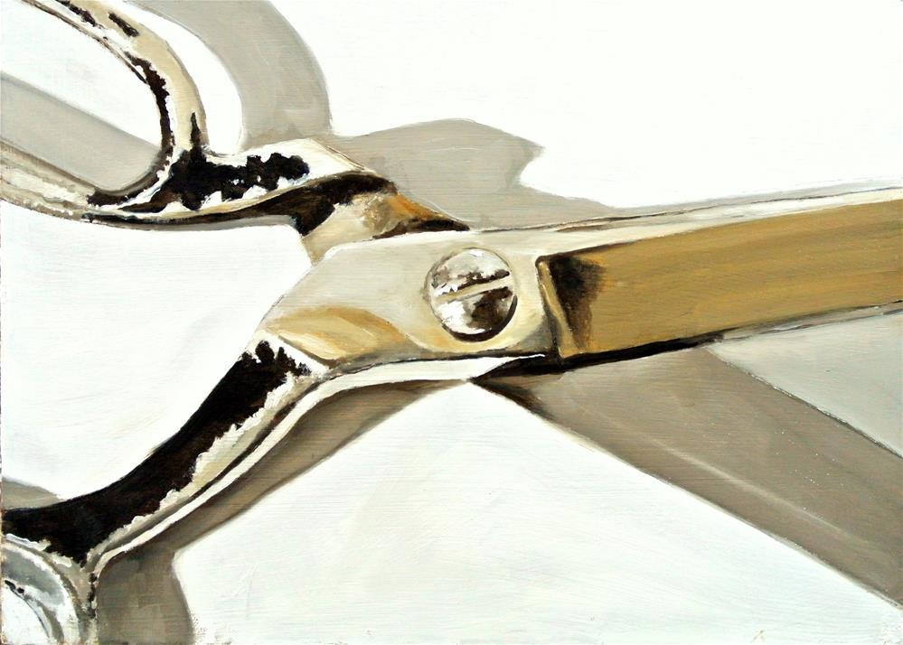 """Scissors"" original fine art by James Coates"