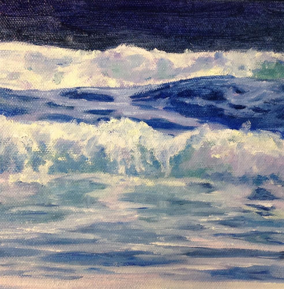 """""""Surf II"""" original fine art by Judith McKenna"""