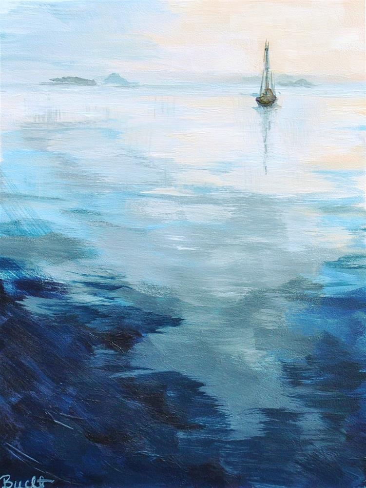 """Silent Departure"" original fine art by Shari Buelt"