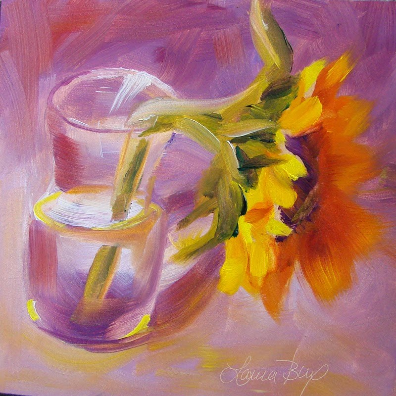 """Fading"" original fine art by Laura  Buxo"