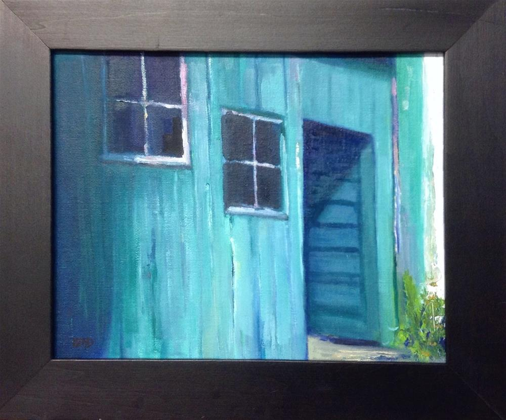 """Auto Repair"" original fine art by Cathy Boyd"