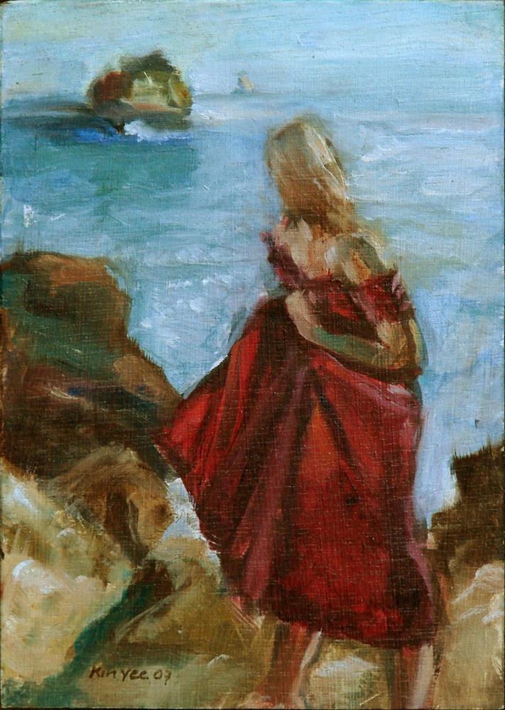 """Ariadne betrayed"" original fine art by Myriam Kin-Yee"
