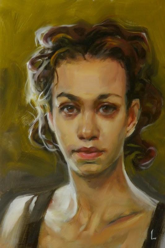 """In the Shade"" original fine art by John Larriva"