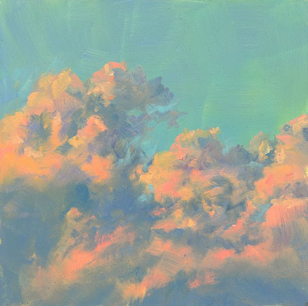 """The Sky's the Limit"" original fine art by Brenda Ferguson"