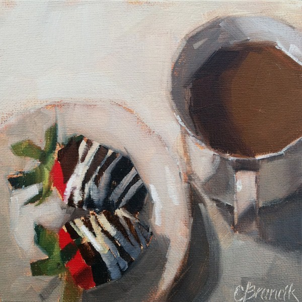 """A Few of My Favorite Things"" original fine art by Candace Brancik"