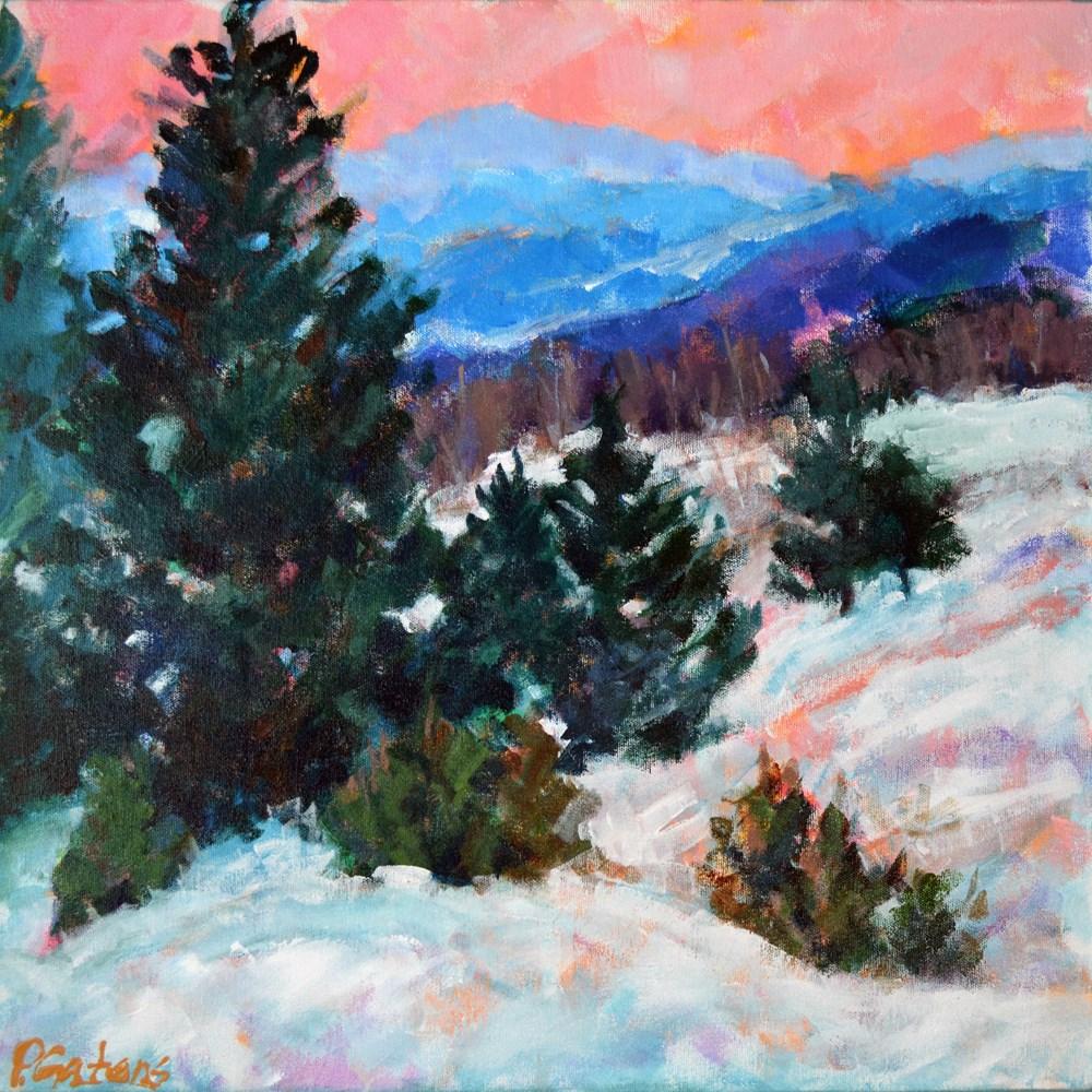 """Spruce Mountain"" original fine art by Pamela Gatens"